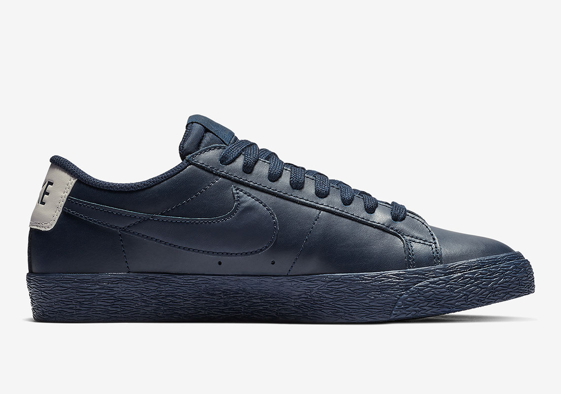 sports shoes 5f292 e8db7 Nike Blazer Low Obsidian 864347-403 Release Info ...