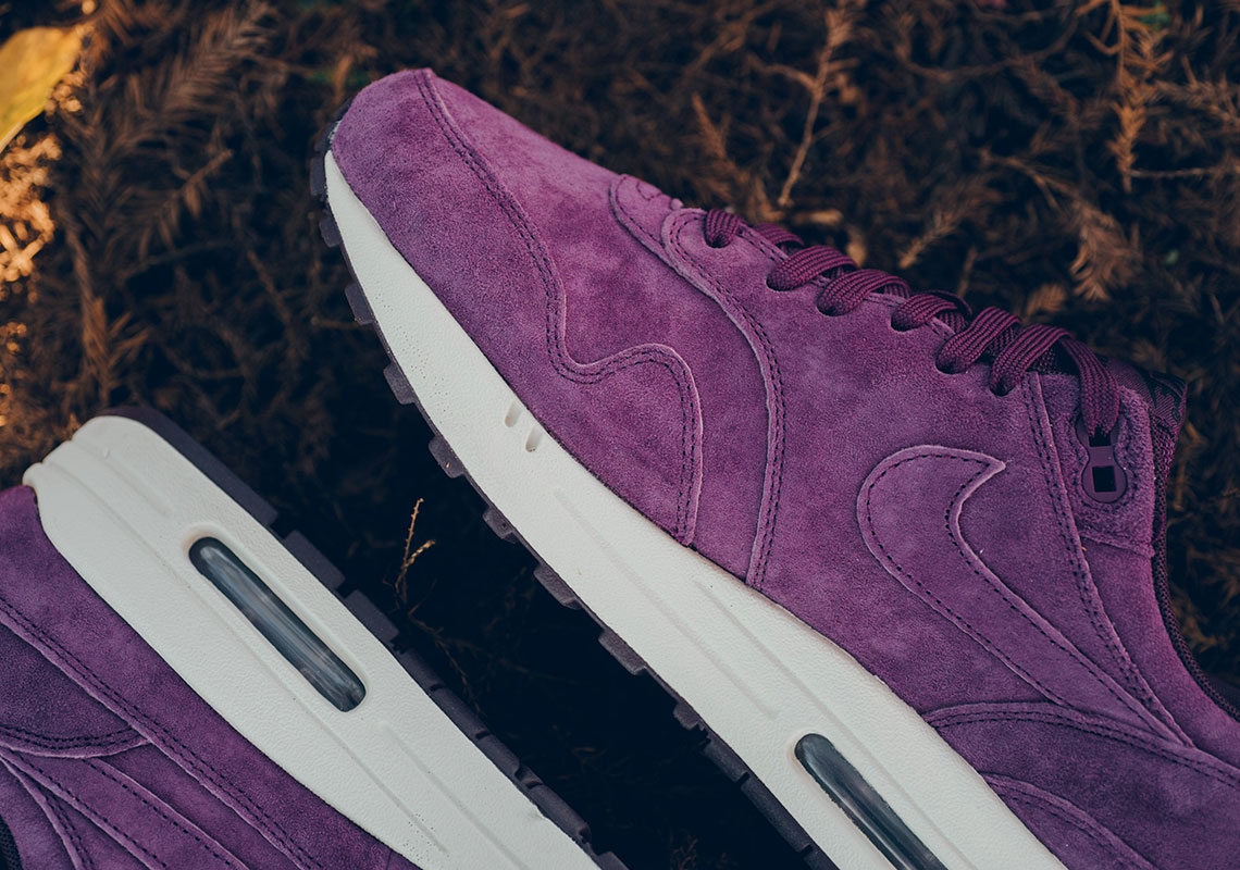 The Nike Air Max 1 Arrives In Full Bordeaux