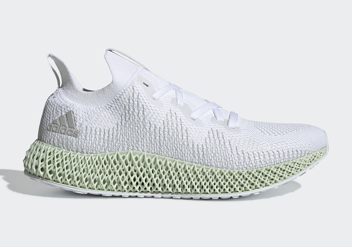 The adidas AlphaEdge 4D Futurecraft In White Drops This Weekend 1f4b8fa33