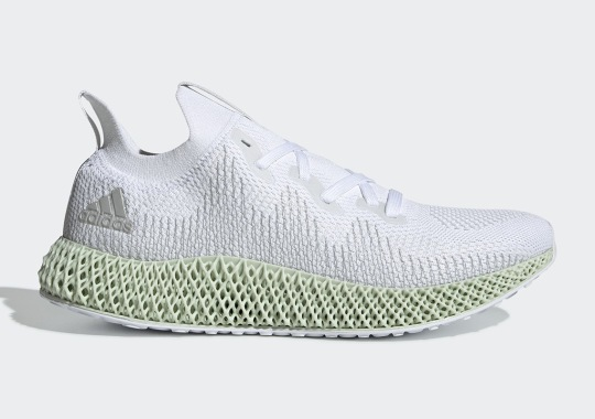 The adidas AlphaEdge 4D Futurecraft In White Drops This Weekend