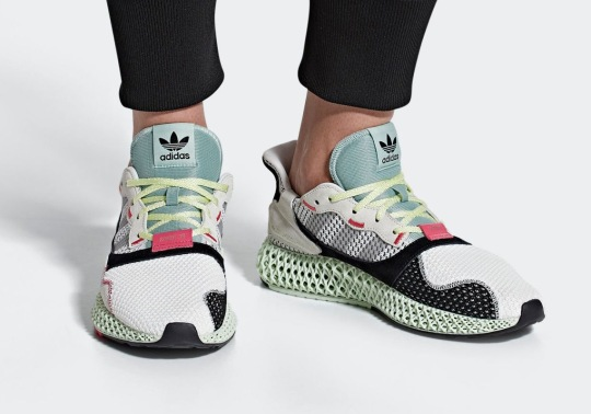 Official Images Of The adidas Consortium ZX4000 4D