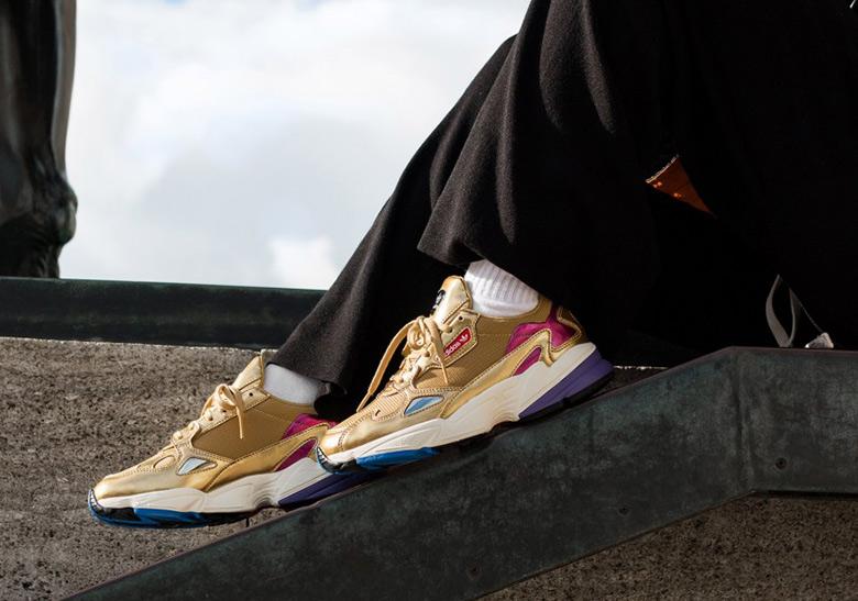 pretty nice 12dbb 12b70 adidas Falcon Metallic Gold CG6247 Release Info  SneakerNews