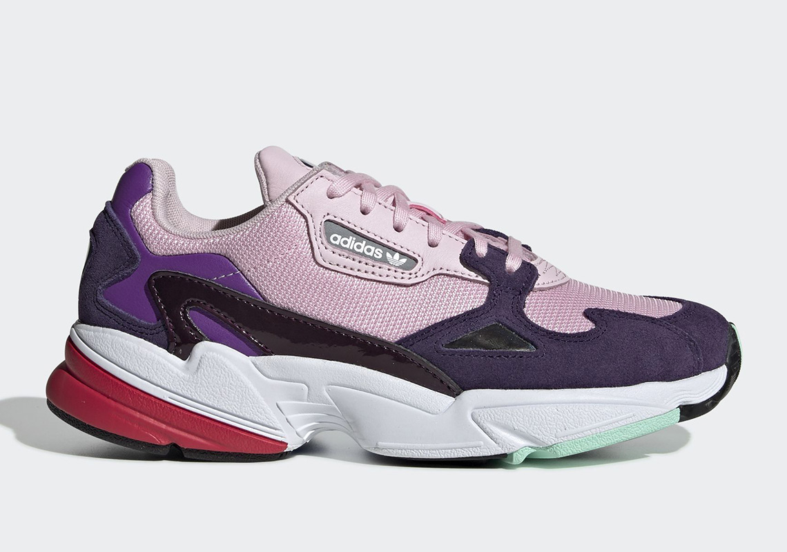 timeless design a6098 33f2b adidas Falcon Release Date December 6th, 2018 100. Color Clear  PinkClear PinkLegend Purple Style Code BD7825