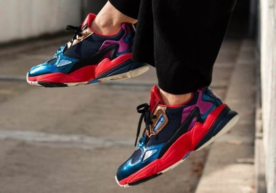 Colorful Patent Leather Arrives On The adidas Falcon