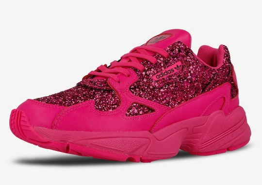 be9d1700a31 The adidas Falcon Appears In Hot Pink Sequins
