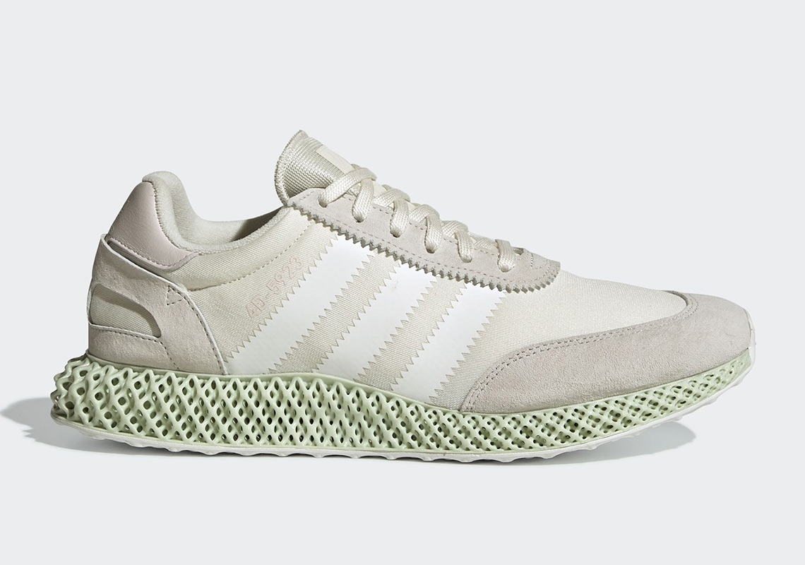 newest 9a7cf 456da First Look At The adidas Futurecraft 4D-5923 In Cloud White