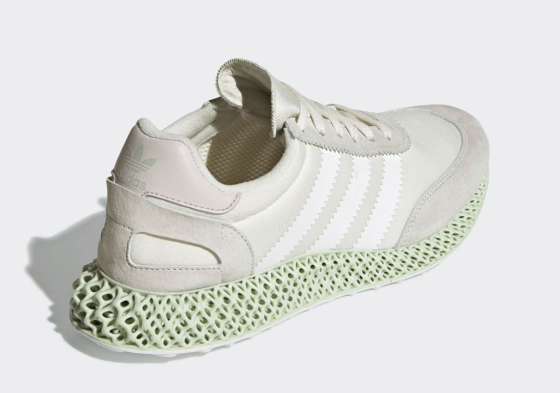 release date 7cd58 87843 adidas Futurecraft 4D-5923 350. Color Running WhiteCloud WhiteGrey