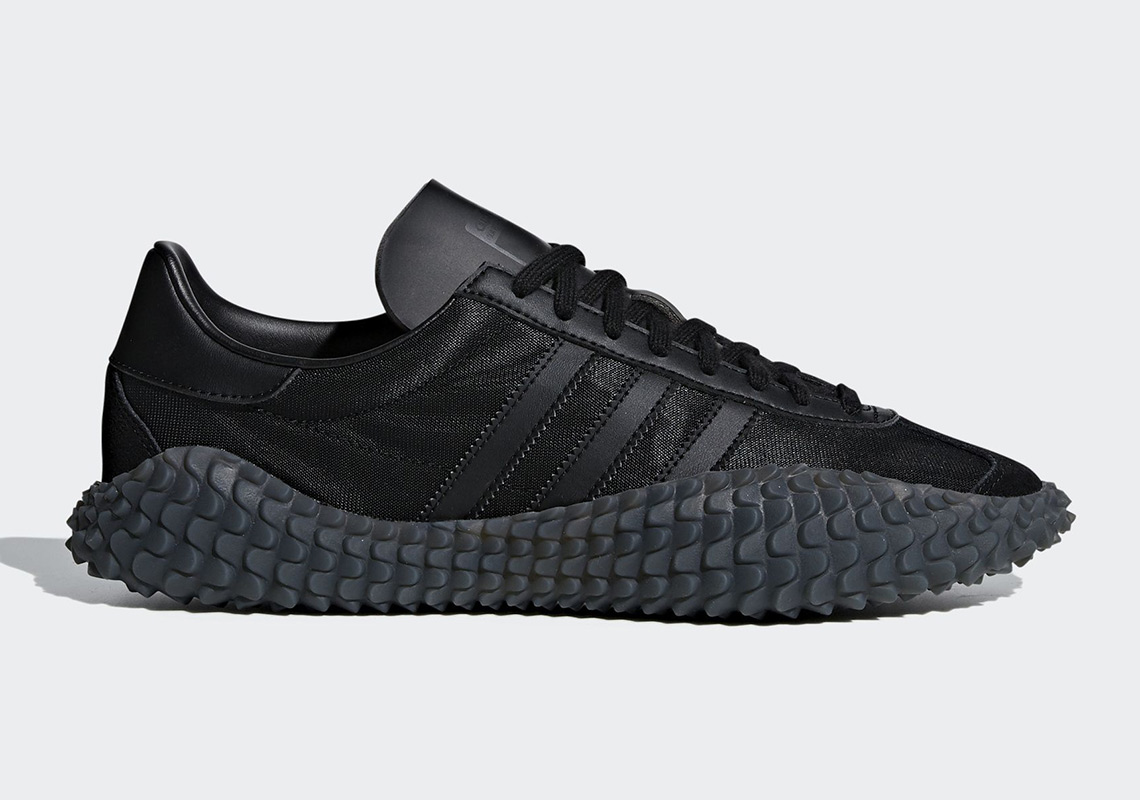 cheap for discount d727f 86415 The adidas Kamanda Country Returns In Triple Black