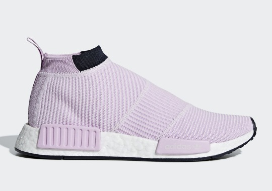 "adidas NMD City Sock ""Lilac"" Is Hitting Stores Now"