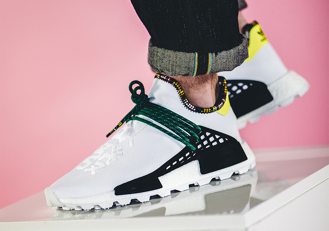 "726dcb63c0977 Pharrell x adidas NMD Hu ""Inspiration Pack"" Release Date  November 10th"