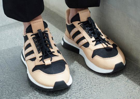 Hender Scheme Adds Lux Leathers To The adidas ZX 500 RM