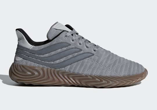 The adidas Sobakov Is Coming Soon In Grey Suede