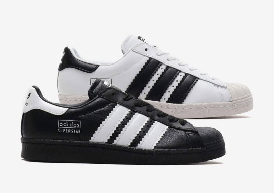 The adidas Superstar 80s Returns With Enlarged Stripes