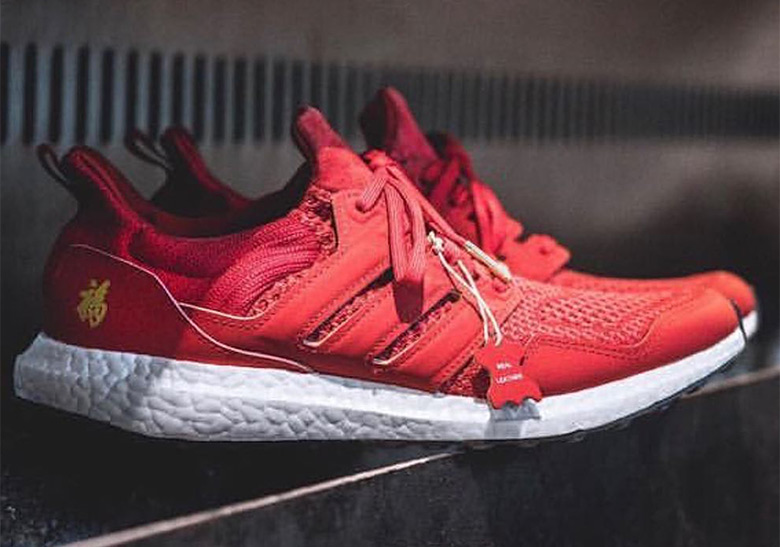 "buy popular 5f5bf 04fb5 Eddie Huang Reveals adidas Ultra Boost ""Chinese New Year"""