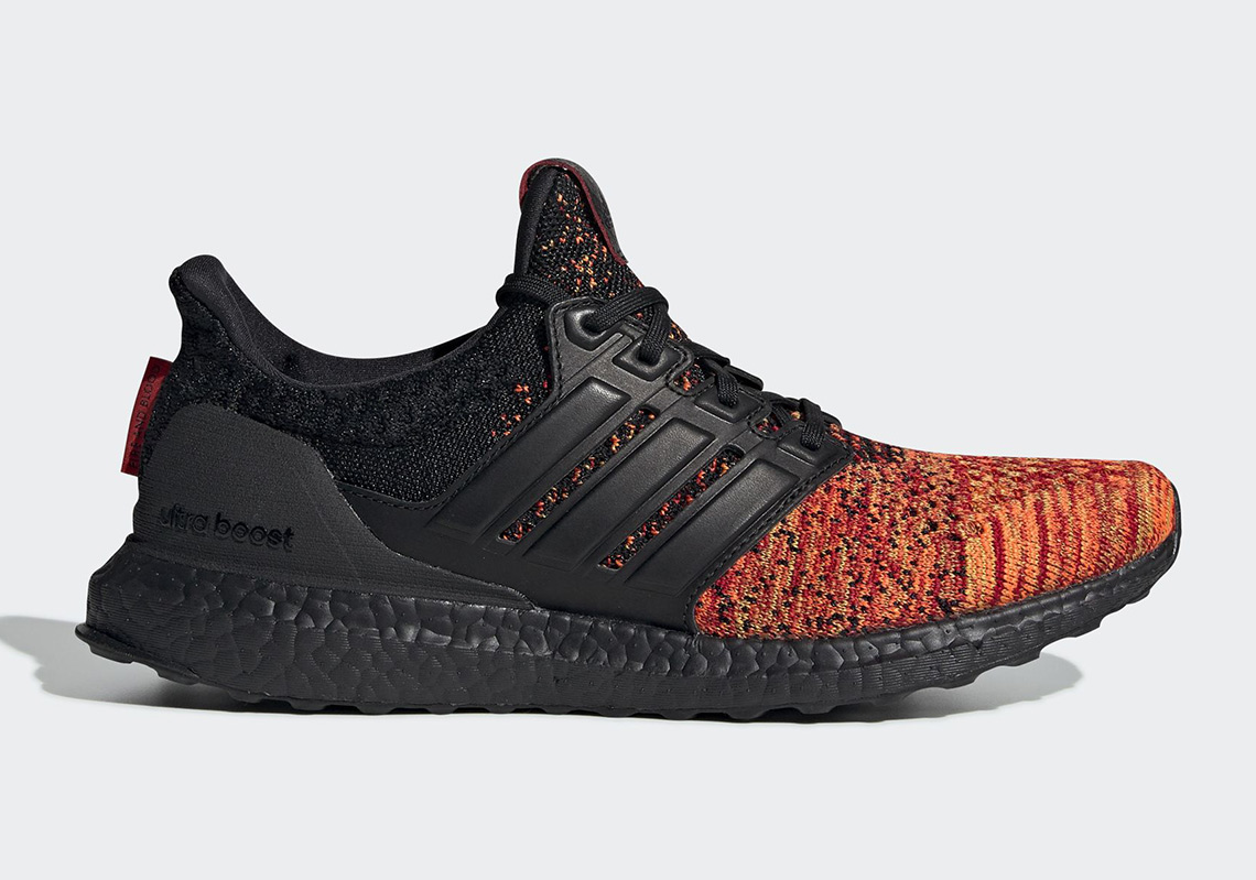 "quality design 76581 12fb0 New Images Of The Game Of Thrones x adidas Ultra BOOST ""House Targaryen"""