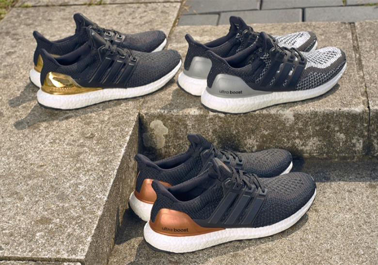 "best authentic 4e752 45b1c The adidas Ultra Boost ""Medal"" Pack Is Returning On Black Friday"