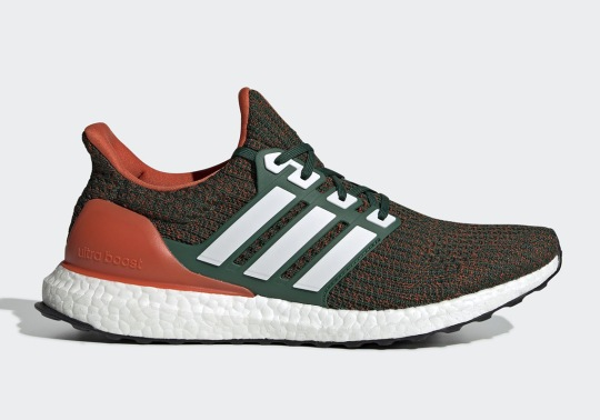 "The adidas Ultra Boost "" Miami Hurricanes"" Is Releasing On December 2nd"
