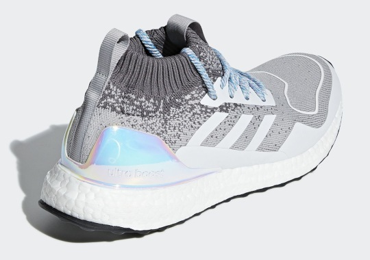 The adidas Ultra Boost Mid Adds Lenticular Heels On This Wintry Colorway