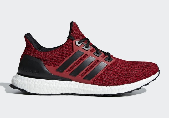 More Red Hits Arrive On The adidas Ultra Boost 4.0