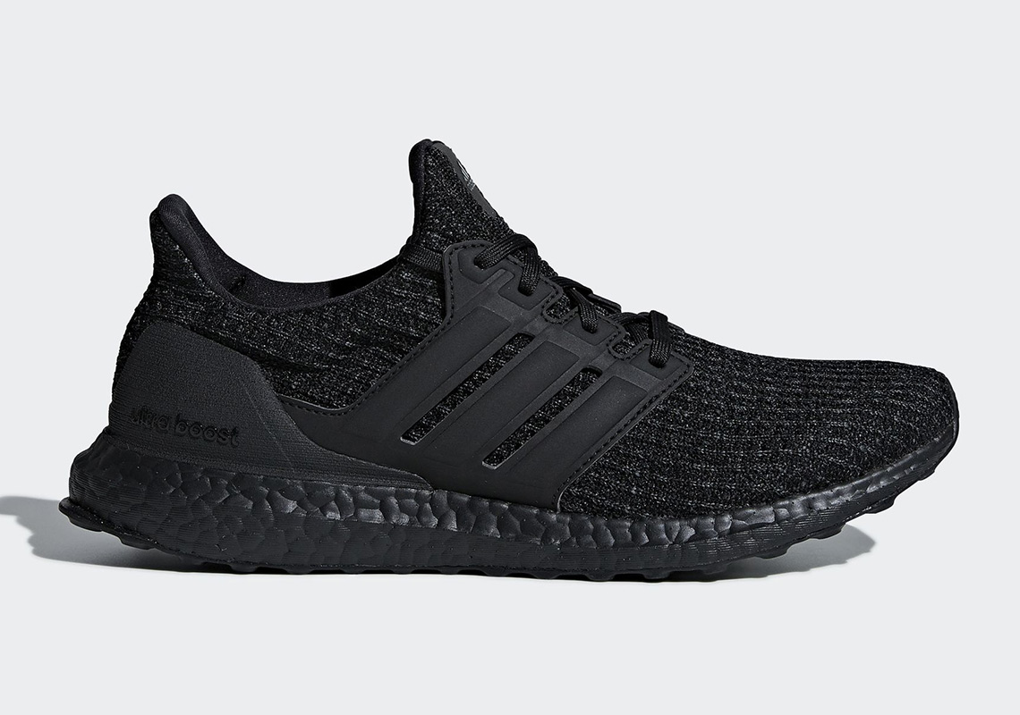 "3e77656aee948 The adidas Ultra Boost 4.0 ""Triple Black"" Is Releasing In December"