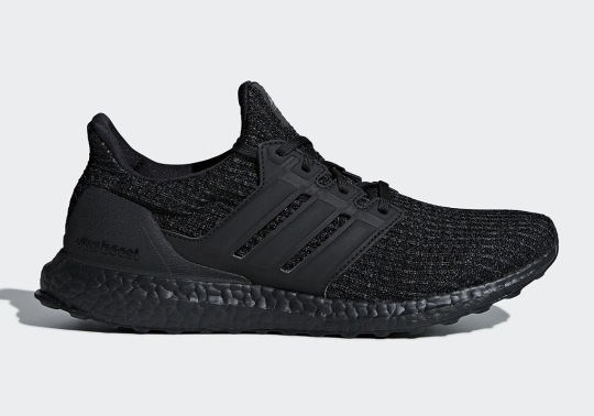 "The adidas Ultra Boost 4.0 ""Triple Black"" Is Releasing In December"