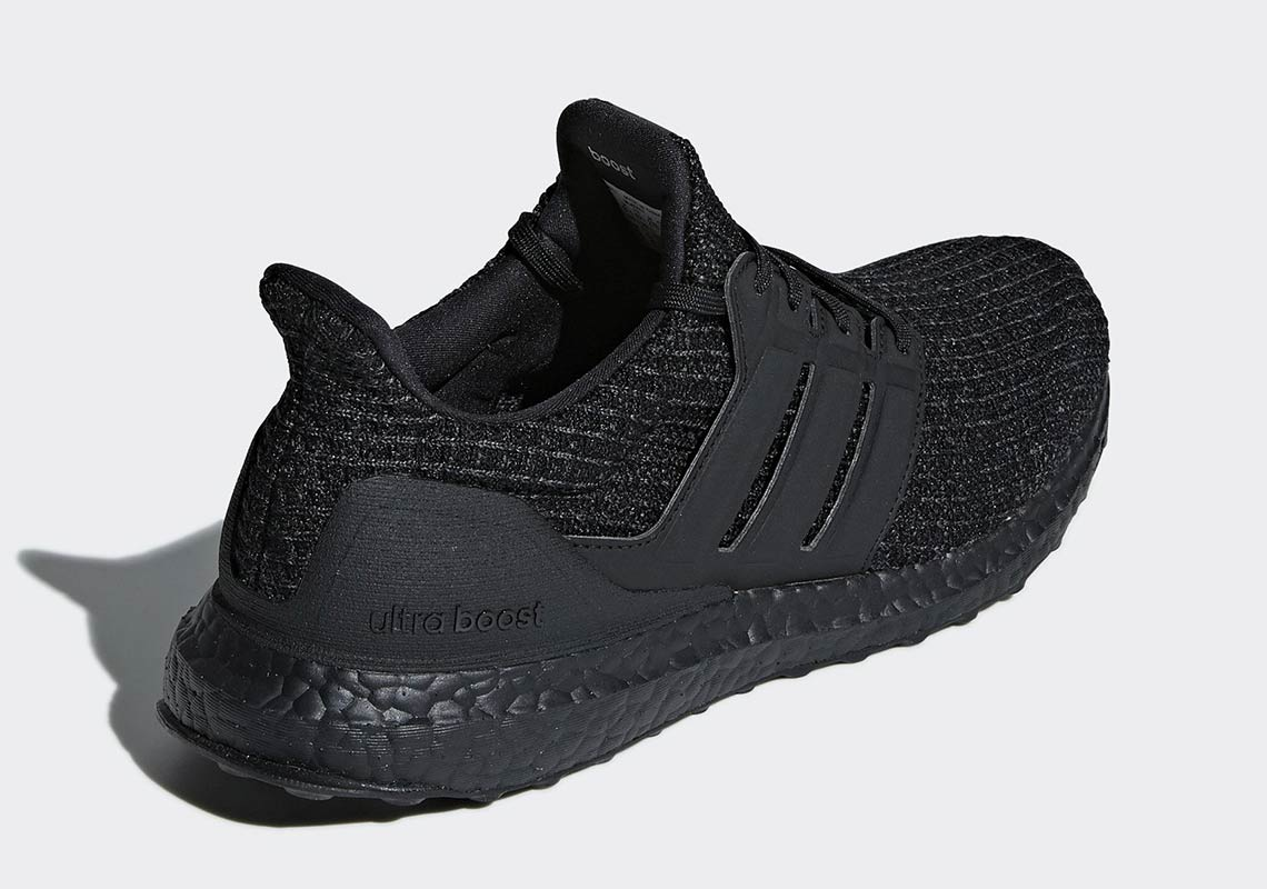 ea90a5ad5d0 adidas Ultra Boost All Black Release Date