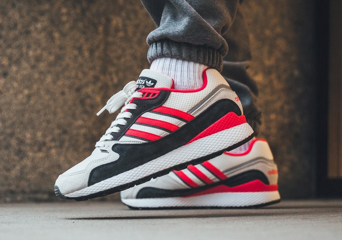 "4702f3a1ba836 The adidas Ultra Tech Arrives In A Bold ""Shock Red"" Colorway"