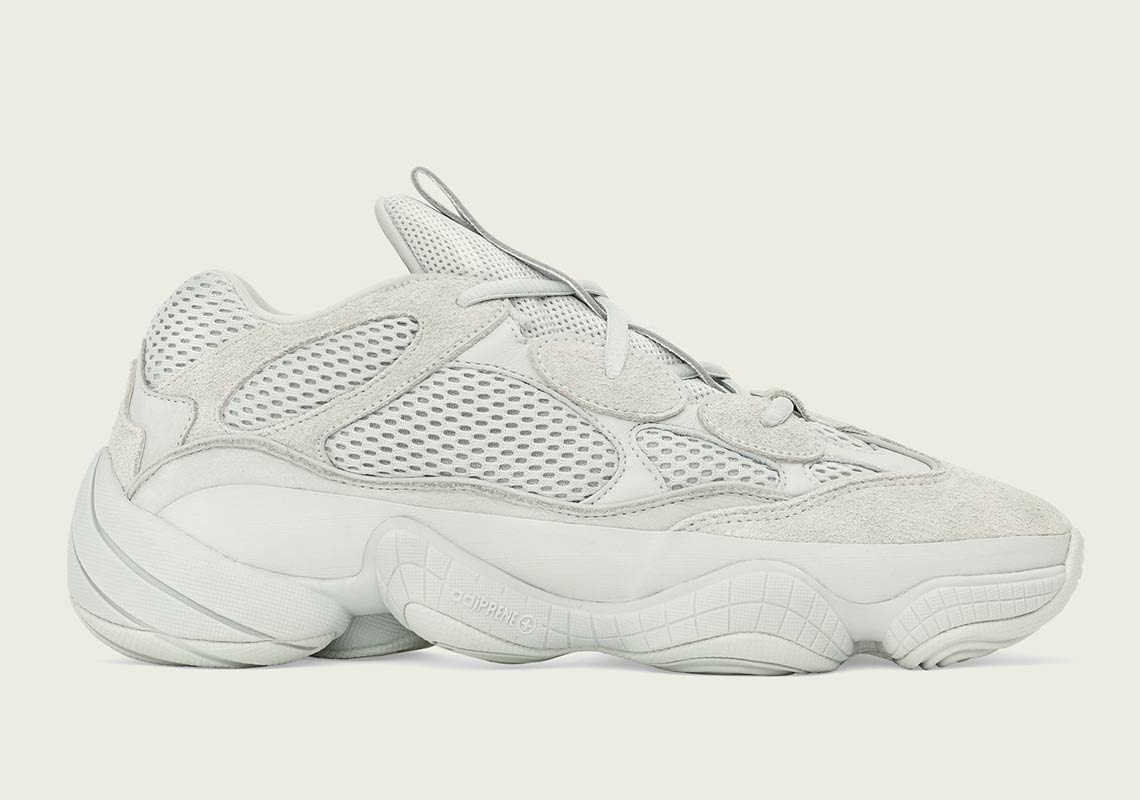"outlet store c9bac 49c96 Where To Buy The adidas Yeezy 500 ""Salt"""