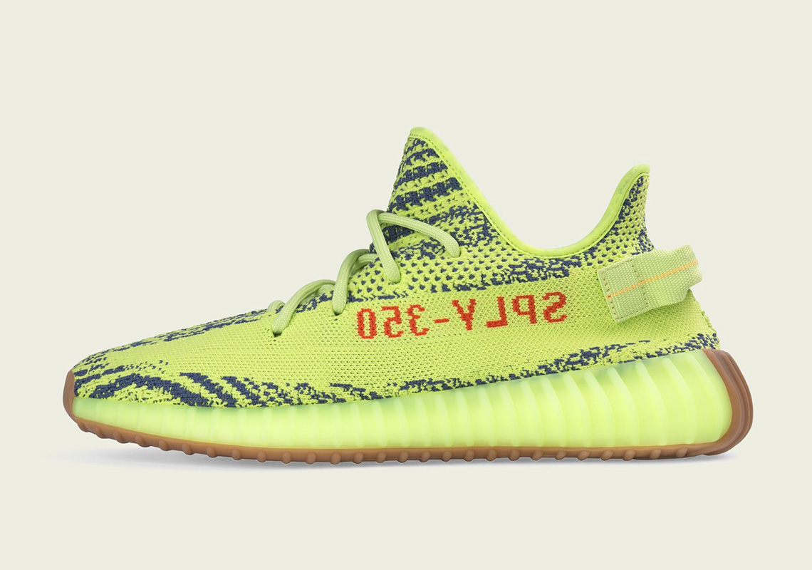 "d9d9da77de6 adidas Yeezy Boost 350 v2 ""Semi-Frozen Yellow"" Releases On December 15th"