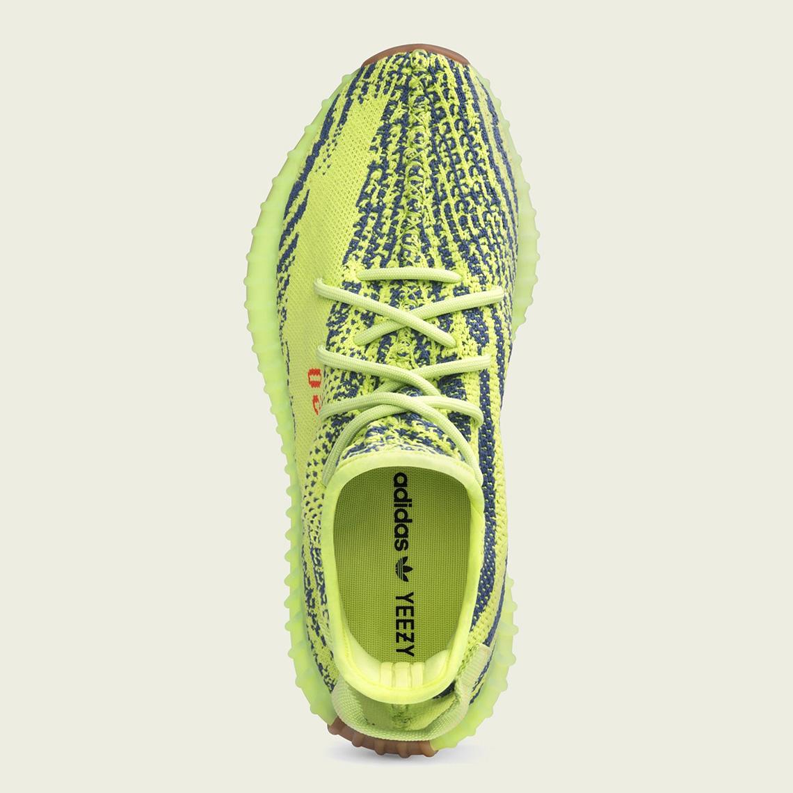 eb06a1a05 adidas Yeezy Boost 350 v2 Semi Frozen Yellow B37572
