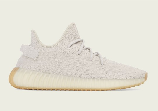 "The adidas Yeezy 350 ""Sesame"" Releases Tomorrow"