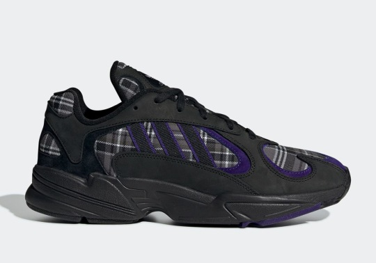 Plaid Prints Arrive On The adidas Yung-1