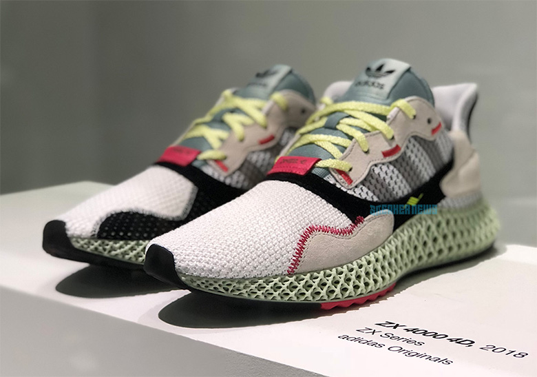 new style 7abd5 72874 The adidas ZX4000 Futurecraft 4D Is Dropping This Month Space-age  Futurecraft tech comes to the adidas ZX4000, creating a fascinating fusion  of old and new.