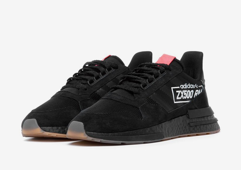 wholesale dealer eb856 b7502 adidas Adds The Big Logo Aesthetic To The ZX500 RM