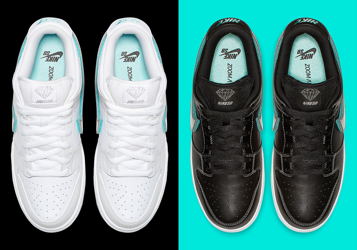 new product 2806f 00abd ... where to buy official images of the diamond x nike sb dunk low c9cf2  e067b