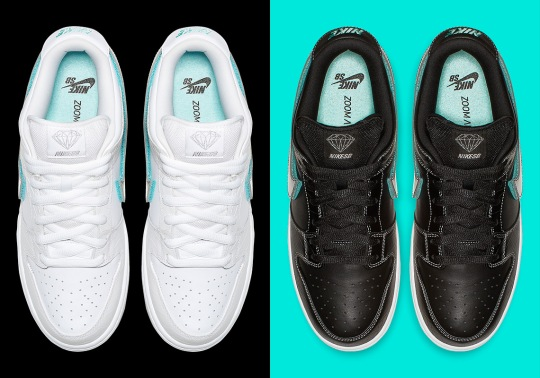 Official Images Of The Diamond x Nike SB Dunk Low