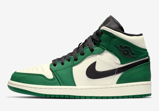 Pine Green Is Back On The Air Jordan 1 Mid