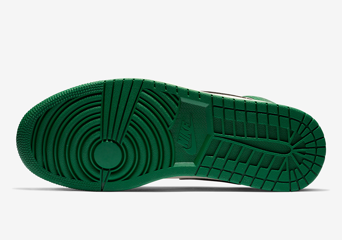 finest selection 62942 b5218 Air Jordan 1 Mid Pine Green Release Info   SneakerNews.com