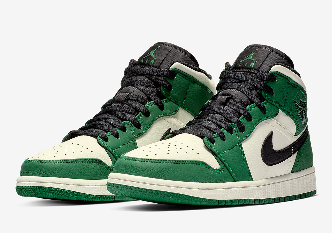 Air Jordan 1 Mid Pine Green Release Info Sneakernews Com