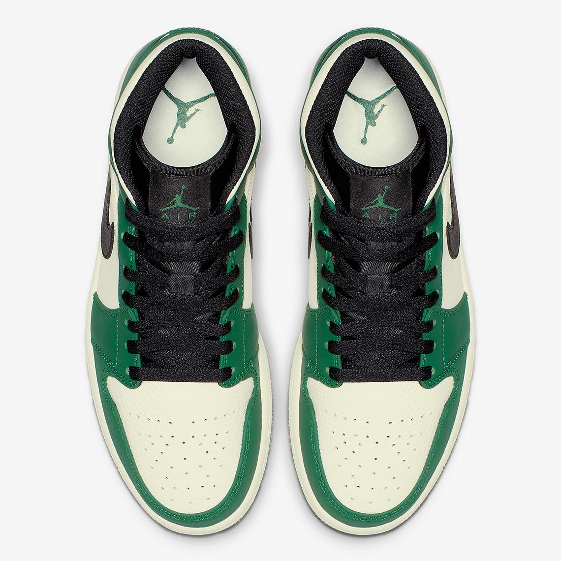 c16fe6f1d37a Air Jordan 1 Mid Pine Green Release Info