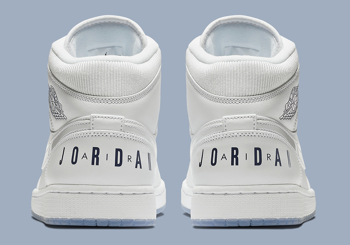 9e6e1e27349966 Air Jordan 1 Mid  120. Color  White Concord White Style Code  BQ6578-100.  Where to Buy. Nike Available  Jimmy Jazz Available  Finish Line Available.  show ...