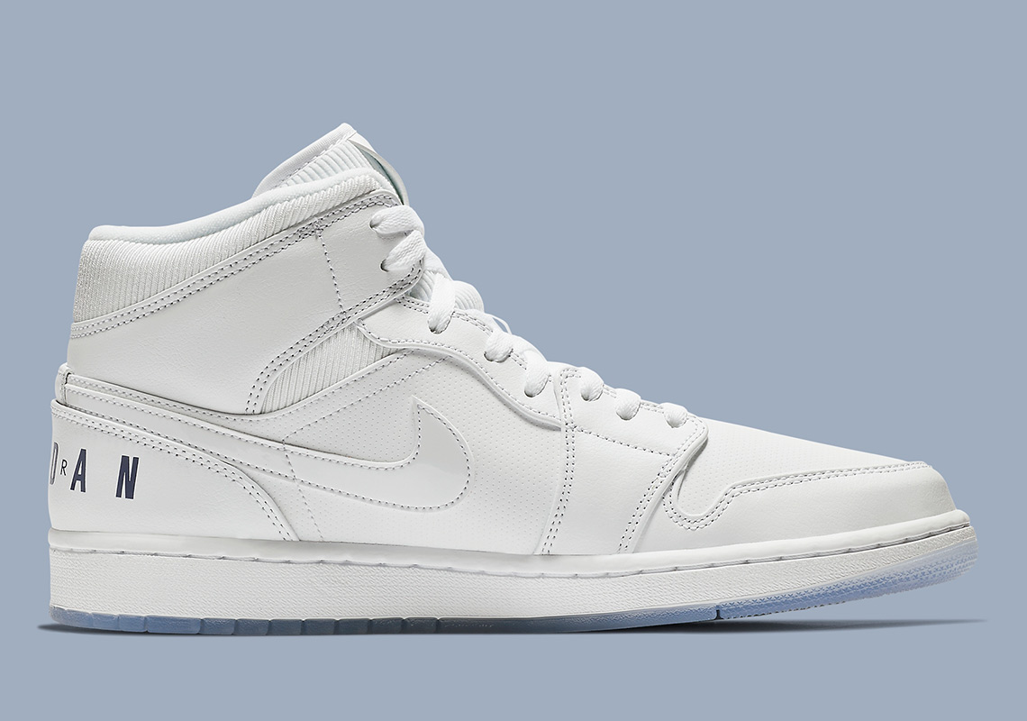 4cc2cb91a4bfd5 Air Jordan 1 Mid  120. Color  White Concord White Style Code  BQ6578-100.  Where to Buy. Nike Available  Jimmy Jazz Available  Finish Line Available