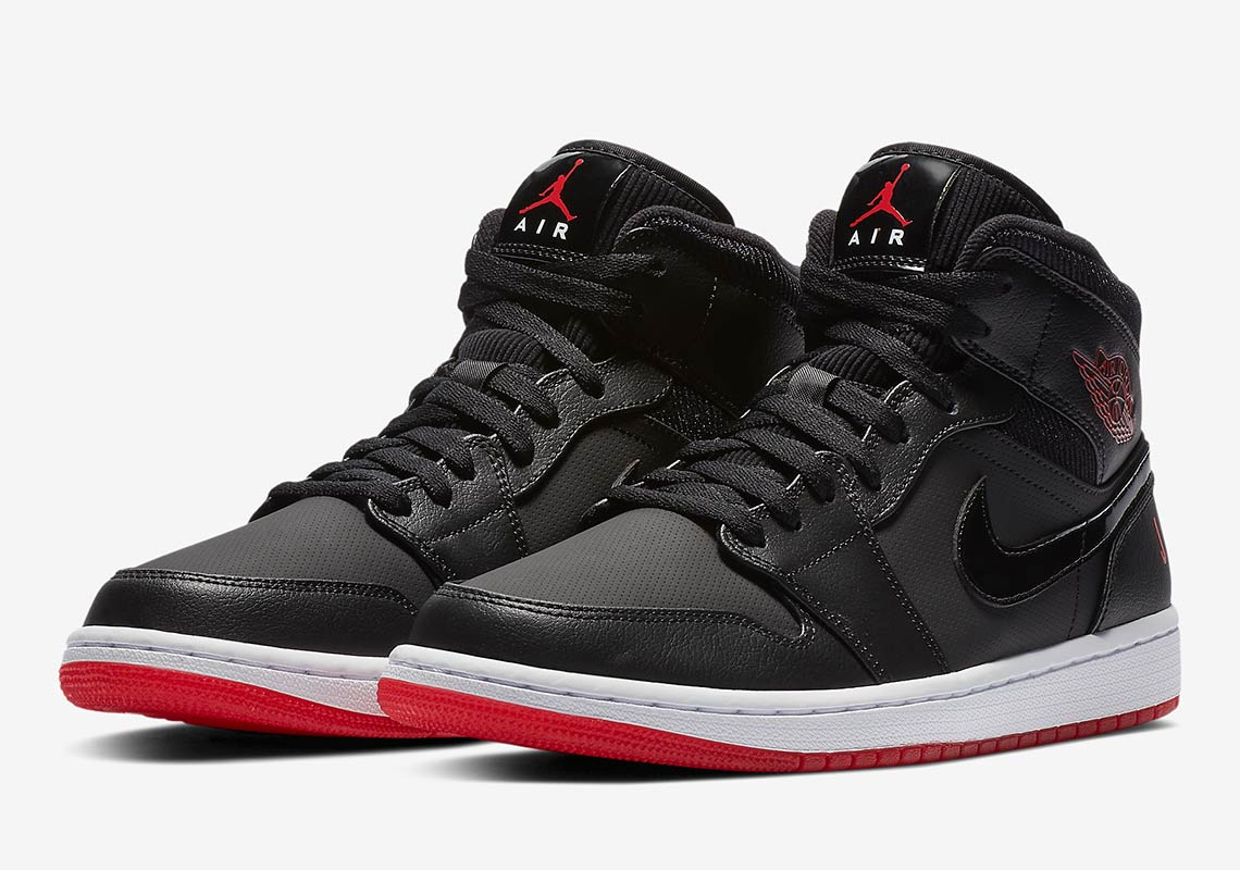 differently 37026 d2069 Air Jordan 1 Mid Bred - Buying Guide + Store Links ...