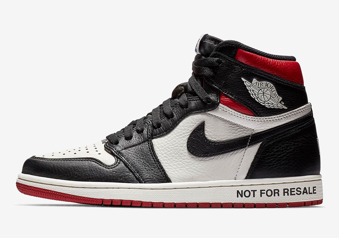 "65ddeeed8e2e Where To Buy The Jordan 1 ""Not For Resale"" In Red"
