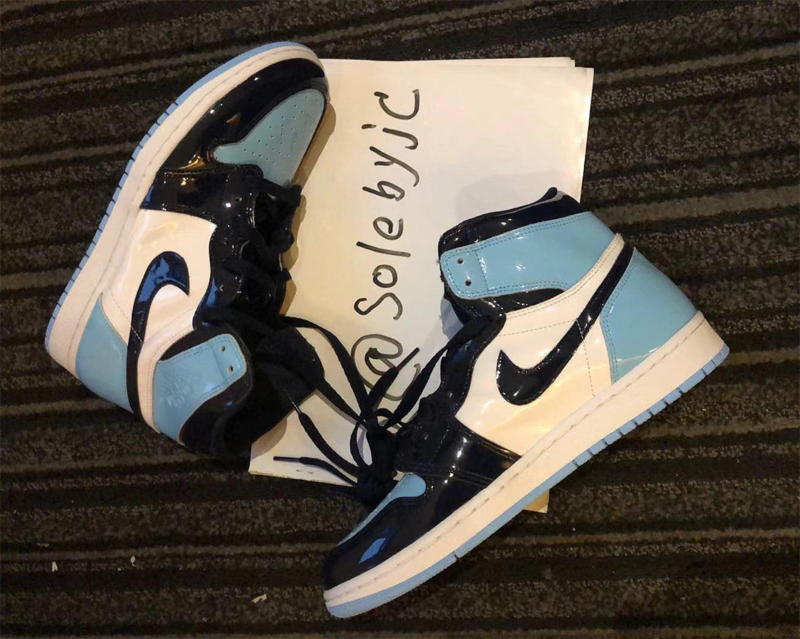 14c2627728c Air Jordan 1 UNC Patent Leather Release Info | SneakerNews.com
