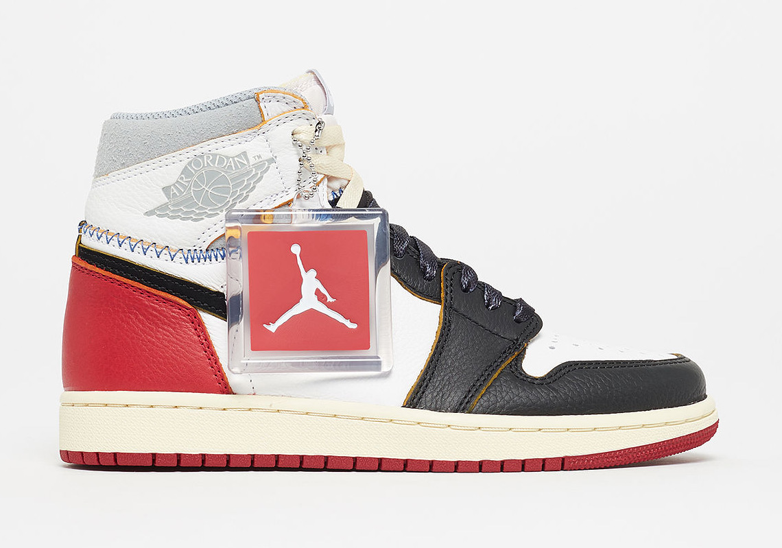 79c38bed4e4b The Union x Air Jordan 1 Is Releasing In Grade School Sizes