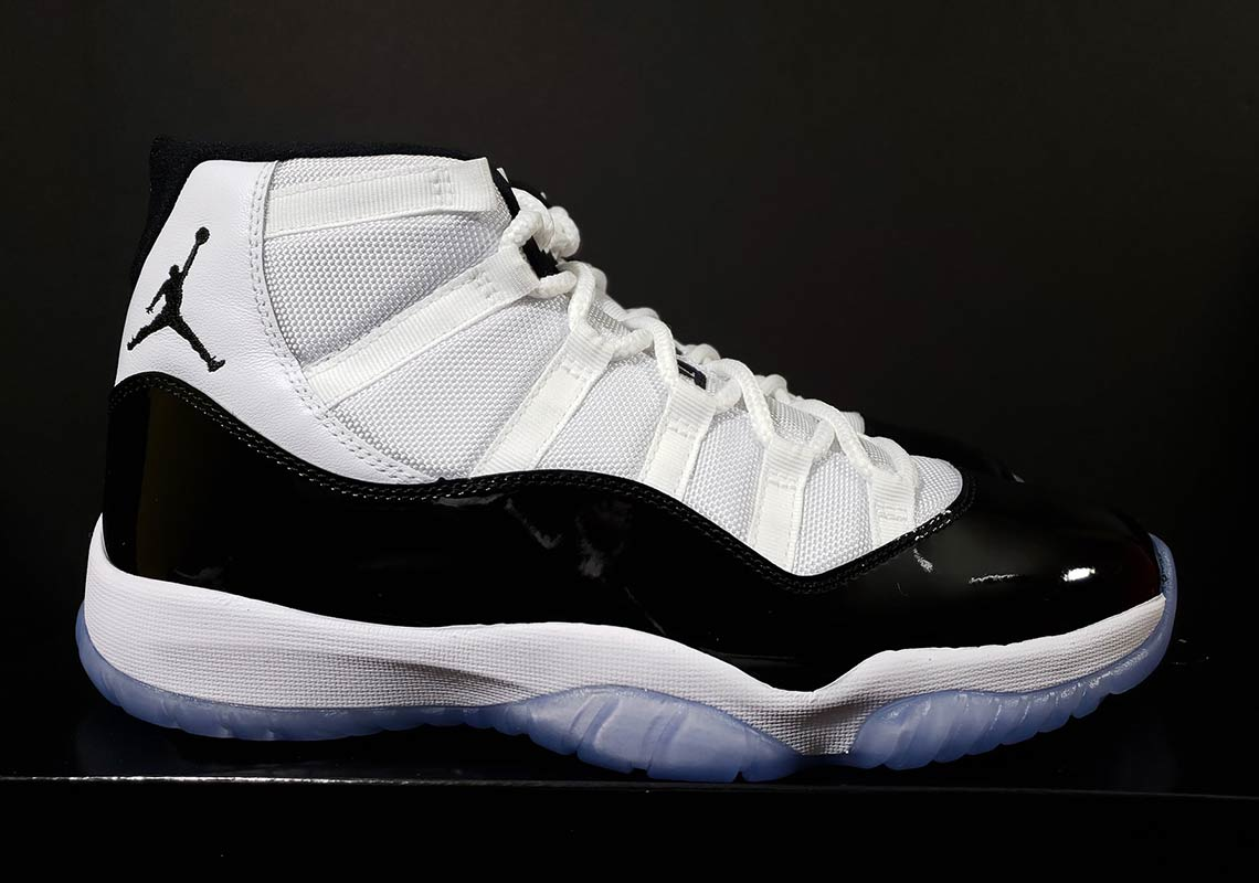 "9e1ab91a10b95c Best Look Yet At The Air Jordan 11 ""Concord"" 2018 Retro"