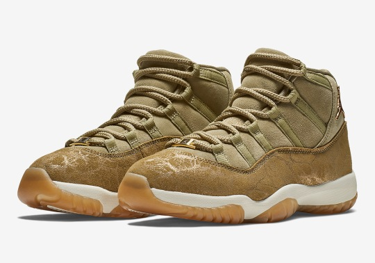 "Where To Buy The Air Jordan 11 ""Neutral Olive"""