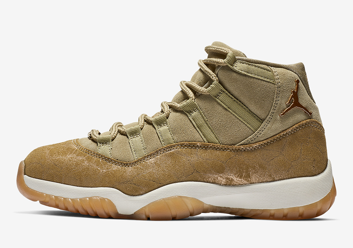 """690a835c691f Where To Buy The Air Jordan 11 """"Neutral Olive"""""""