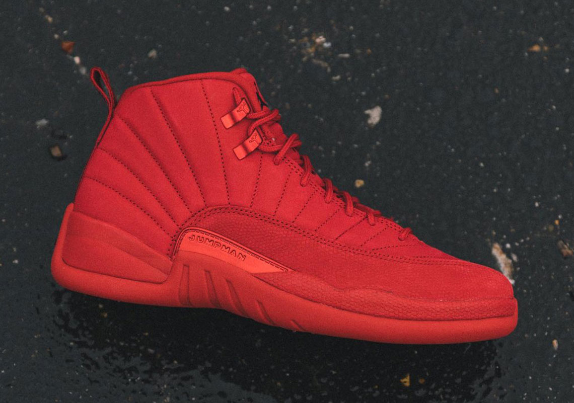 "00647552f6b The Air Jordan 12 ""Gym Red"" Releases Tomorrow"